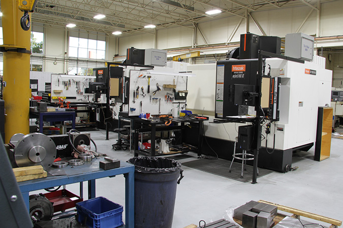 CNC Milling Centers